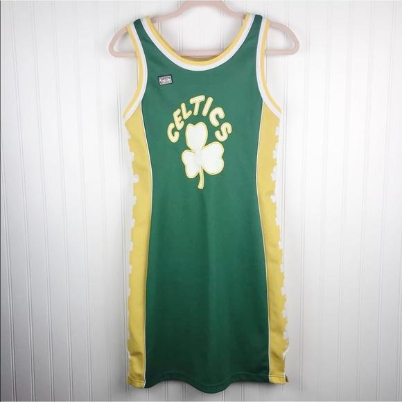 finest selection cac76 91201 Boston Celtics Hardwood Classics Jersey Dress Sz S